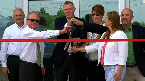 Ribbon Cutting for Char-Broil's New Global Headquarters Held on April 19