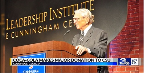 Coca-Cola gives Columbus State $1 million in Bill Turner's name