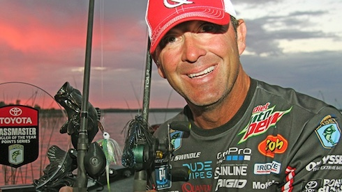 B.A.S.S. Angler of the Year & Quantum® Pro Gerald Swindle