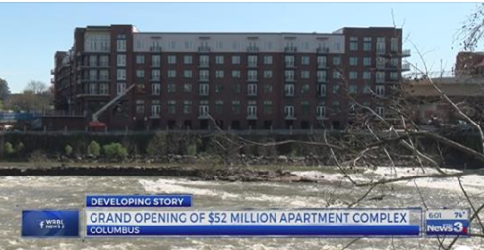 New Riverfront Complex to Double Numbers of Downtown Apartment Available
