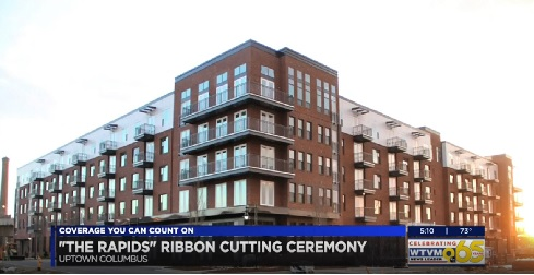 The Rapids Ribbon Cutting Ceremony